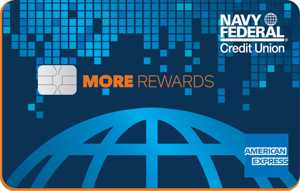 Navy Federal More Rewards American Express card review